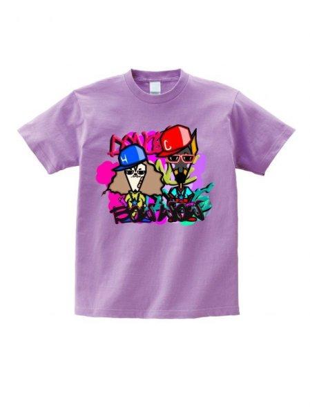 画像1: わんわんパトロール  Tシャツ  (ダスティブルー) Sサイズ (1)